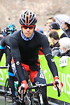 Daniel Oss (ITA) BMC Racing Team at the sign on before the start of the 104th edition of the Milan-San Remo cycle race at Castello Sforzesco in Milan, 17th March 2013 (Photo by Eoin Clarke 2013)