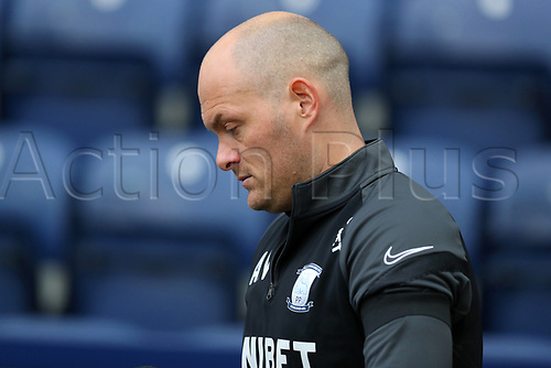 31st October 2020; Deepdale Stadium, Preston, Lancashire, England; English Football League Championship Football, Preston North End versus Birmingham City; Preston North End manager Alex Neill