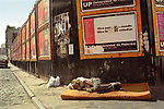 Buenos Aires Argentina South America BsAs Poverty sleeping rough 2002 2000s