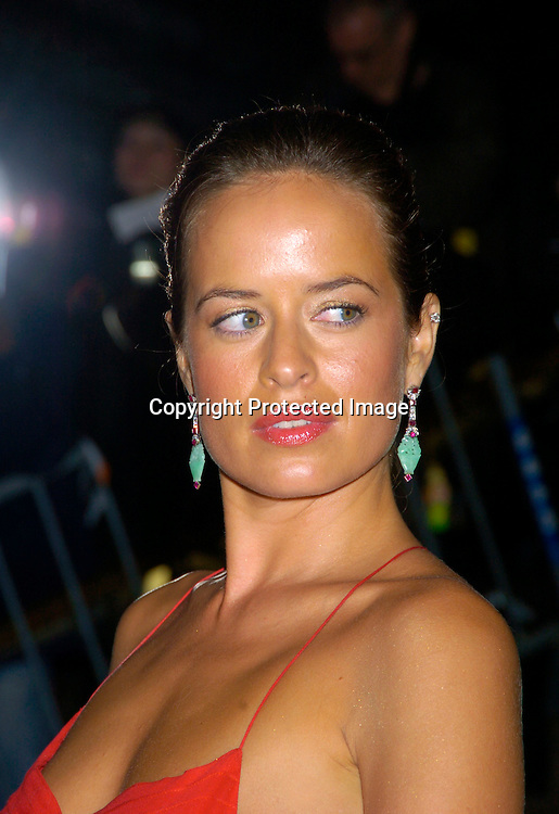 Jade Jagger ..at The Costume Institute Gala of the Metropolitan Museum of Art on April 26, 2004 ...Photo by Robin Platzer, Twin Images