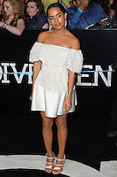"""WESTWOOD, LOS ANGELES, CA, USA - MARCH 18: Zoe Kravitz at the World Premiere Of Summit Entertainment's """"Divergent"""" held at the Regency Bruin Theatre on March 18, 2014 in Westwood, Los Angeles, California, United States. (Photo by Xavier Collin/Celebrity Monitor)"""