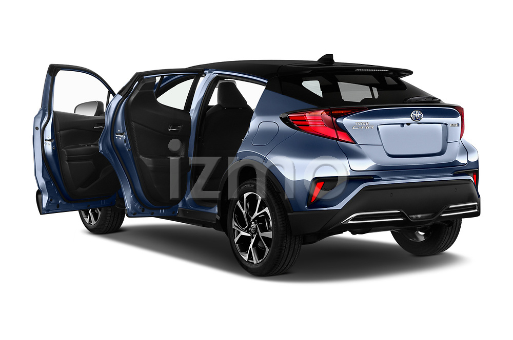 Car images close up view of a 2020 Toyota C-HR Club 5 Door SUV doors