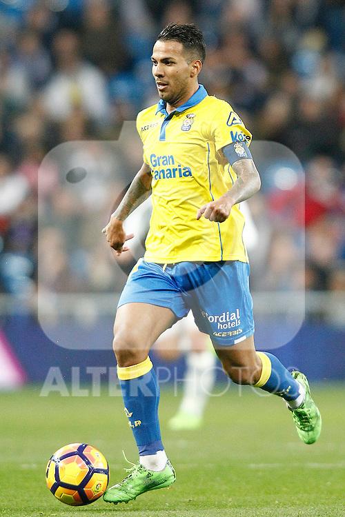 UD Las Palmas' Jonathan Viera during La Liga match. March 1,2017. (ALTERPHOTOS/Acero)