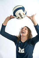 NWA Democrat-Gazette/BEN GOFF @NWABENGOFF<br /> Kortney Puckett of Bentonville West, volleyball player of the year, poses for a photo Wednesday, Nov. 28, 2018, at the Northwest Arkansas Democrat-Gazette studio in Springdale.