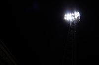 8th September 2020; Abbey Stadium, Cambridge, Cambridgeshire, England; EFL Trophy Football, Cambridge United versus Fulham Under 21; The Cambridge Utd flood lights on display