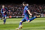 Luis Suarez of FC Barcelona during the La Liga 2017-18 match between FC Barcelona and RC Celta de Vigo at Camp Nou Stadium on 02 December 2017 in Barcelona, Spain. Photo by Vicens Gimenez / Power Sport Images