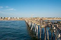 Fishing pier, Naggs Head, Outer Banks, North Carolina, USA