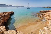Geranos beach of Koufonissi island in Cyclades, Greece