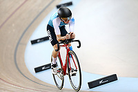 Ewan Cousins competes in the U19 3000M IP during the 2020 Vantage Elite and U19 Track Cycling National Championships at the Avantidrome in Cambridge, New Zealand on Saturday, 25 January 2020. ( Mandatory Photo Credit: Dianne Manson )