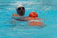 CALI - COLOMBIA - 26-07-2013: Competencias de Salvamento en las Piscinas Hernando Botero O´Byrne, durante los IX Juegos Mundiales Cali julio 26 de 2013.(Foto: VizzorImage / Luis Ramirez / Staff.) Competencies of rescue in the Pools Hernando Botero O'Byrne, during the IX World Games Cali July 26, 2013. (Photo: VizzorImage / Luis Ramirez / Staff.)