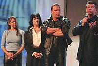 Stephanie McMahon Chyna Triple H   Vince McMahon    2000                                                                                      Photo By John Barrett/PHOTOlink