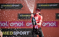 Chad Haga (USA/Sunweb) is the suprise closing TT winner<br /> <br /> Stage 21 (ITT): Verona to Verona (17km)<br /> 102nd Giro d'Italia 2019<br /> <br /> ©kramon