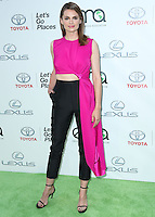 BURBANK, CA, USA - OCTOBER 18: Stana Katic arrives at the 2014 Environmental Media Awards held at Warner Bros. Studios on October 18, 2014 in Burbank, California, United States. (Photo by Xavier Collin/Celebrity Monitor)