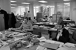 Now! magazine  28th of April 1981 closes down, June Stanier picture editor and  Geoff Ellis on the picture desk. <br /> <br /> Sir James Goldsmith closed down his weekly news magazine Now! due to unprofitable trading on Monday 27th April 1981.