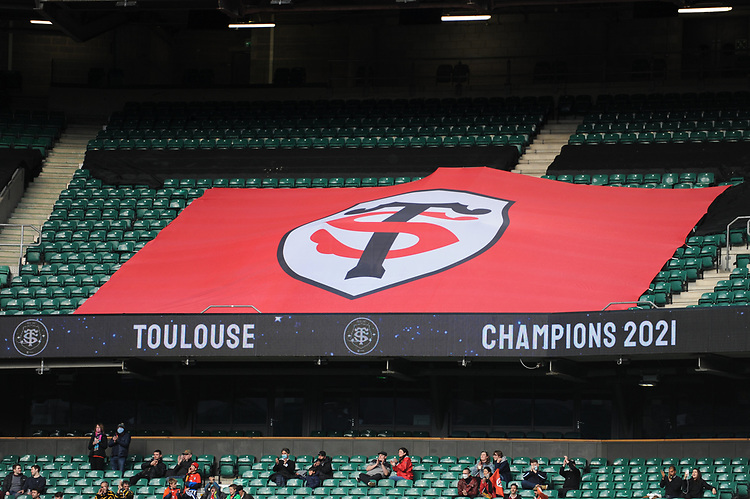 Toulouse win their 5th Heineken Champions Cup Final against La Rochelle in front of 10,000 fans at Twickenham Stadium on Saturday 22 May 2021 (Photo by Rob Munro/Stewart Communications)