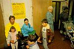DOCTOR WIDGERY SURGERY, GILL ST, LONDON E14, MONDAY MORNING, 1989