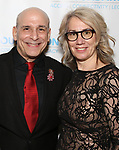 """Jonathan Cerullo and Laura Penn during The """"Mr. Abbott"""" Award 2019 at The Metropolitan Club on 3/25/2019 in New York City."""