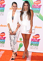 WESTWOOD, LOS ANGELES, CA, USA - JULY 17: Brianna Danielson, Nicole Garcia-Colace at the Nickelodeon Kids' Choice Sports Awards 2014 held at UCLA's Pauley Pavilion on July 17, 2014 in Westwood, Los Angeles, California, United States. (Photo by Xavier Collin/Celebrity Monitor)