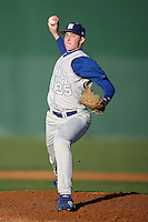 February 20, 2009:  Pitcher Sean Black (35) of Seton Hall University during the Big East-Big Ten Challenge at Jack Russell Stadium in Clearwater, FL.  Photo by:  Mike Janes/Four Seam Images