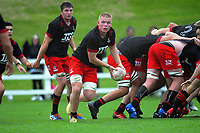 Anton Segner in action during the 2021 Bunnings Super Rugby Aotearoa Under-20 rugby match between the Chiefs and Crusaders at Owen Delaney Park in Taupo, New Zealand on Tuesday, 14 April 2021. Photo: Dave Lintott / lintottphoto.co.nz