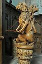 25/06/15 - MOUTIER D AHUN - CREUSE - FRANCE - Art baroque du XVIIIeme siecle. Les boiseries de l abbaye du Moutiers d Ahun ont ete realise par l atelier du sculpteur Auvergnat Simon Bouer - Photo Jerome CHABANNE