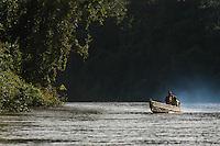 O rio Juma nasce em Apuí formado pelos rios das Pombas e Jatuaranas, indo desembocar no rio Aripuanã.<br /> Apuí, Amazonas, Brasil.<br /> Foto Paulo Santos<br /> 04/02/2007
