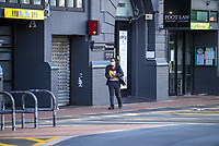 Allen Street at 3.30pm on Thursday during lockdown for COVID19 pandemic in Wellington, New Zealand on Thursday, 9 April 2020. Photo: Dave Lintott / lintottphoto.co.nz
