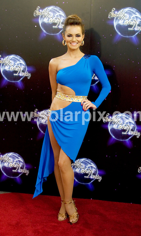 **ALL ROUND PICTURES FROM SOLARPIX.COM**.**WORLDWIDE SYNDICATION RIGHTS**.Photocall for the forthcoming series 8 of Strictly Come Dancing. London, UK. 8 September 2010 ..This pic: Kara Tointon..JOB REF: 12065 SKD DATE: 08_09_2010.**MUST CREDIT SOLARPIX.COM OR DOUBLE FEE WILL BE CHARGED**.**MUST NOTIFY SOLARPIX OF ONLINE USAGE**.**CALL US ON: +34 952 811 768 or LOW RATE FROM UK 0844 617 7637**