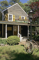 Cold Spring Historic Village, New Jersey. Cold Spring Village Country Store, (Marmora Sharp House ca.1790), in the restored Cape May County village