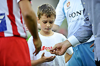 MELBOURNE, AUSTRALIA - FEBRUARY 12: The toss of the coin in the round 27 A-League match between the Melbourne Heart and Sydney FC at AAMI Park on February 12, 2011 in Melbourne, Australia. (Photo Sydney Low / AsteriskImages.com)