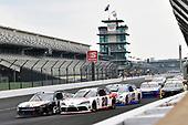 #93: Myatt Snider, RSS Racing, Chevrolet Camaro Louisiana Hot Sauce and #20: Harrison Burton, Joe Gibbs Racing, Toyota Supra Dex Imaging