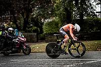 Annemiek van Vleuten (NED/Mitchelton-Scott)<br /> Elite Women Individual Time Trial<br /> <br /> 2019 Road World Championships Yorkshire (GBR)<br /> <br /> ©kramon