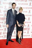Laurent Lafitte, Marina Fois - Sidaction 2017 Fashion Dinner - 26/01/2017 - Paris - France # DINER DE LA MODE DU SIDACTION 2017