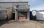 Hartlepool United 0 Sunderland 3, 20/07/2016. Victoria Park, Pre Season Friendly. Refreshments bar closed before the game. Photo by Paul Thompson.