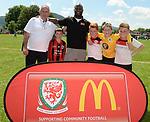 Abergavenny McDonalds Community Football - Abergavenny Leisure centre - Sunday 18th June 2017 - Wales <br /> <br /> ©www.fotowales.com - Please Credit: Ian Cook - Sportingwales