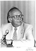 Robert Boyd<br /> , President, Hydro-Quebec<br /> , 27 aout 1978<br /> <br /> PHOTO : JJ Raudsepp  - Agence Quebec presse