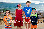 The O'Sullivan family from Ballymac ready for a a swim in Fenit on Sunday, l to r: Joshua, Sophie, Shane and Kyle O'Sullivan.