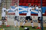 23.12.2020 St Johnstone v Rangers: Kemar Roofe takes the acclaim for his goal