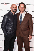 """director, Yann Demange and Matthew McConaughey<br /> arriving for the """"White Boy Rick"""" screening at the Picturehouse Central, London<br /> <br /> ©Ash Knotek  D3462  27/11/2018"""
