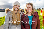 Enjoying a stroll in Blennerville on Tuesday, l to r: Ivanna McMahon and Eabha O'Brien.