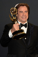 LOS ANGELES - SEP 18:  John Travolta at the 2016 Primetime Emmy Awards - Press Room at the Microsoft Theater on September 18, 2016 in Los Angeles, CA