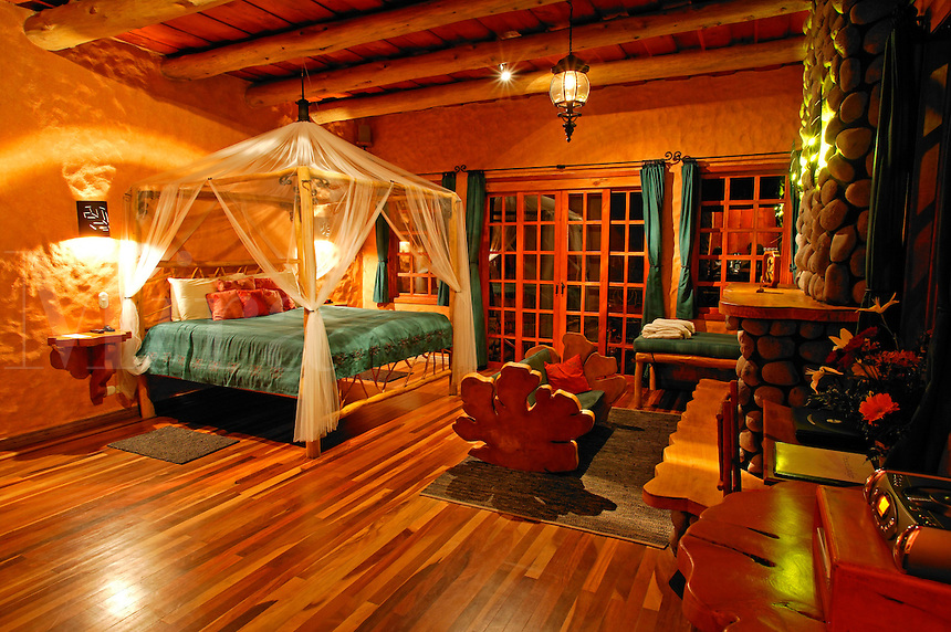 Standard room at the La Paz Waterfall Gardens and Peace Lodge, Costa Rica.