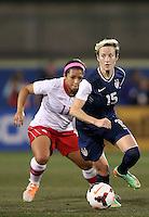 Frisco, Texas - January 31, 2014: The US Women's National team defeated the National team of Canada 1-0 during an International friendly match at Toyota Park.