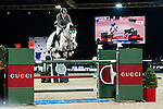 Ludger Beerbaum of Germany rides Colestus at the Longines Grand Prix during the Longines Hong Kong Masters 2015 at the AsiaWorld Expo on 15 February 2015 in Hong Kong, China. Photo by Xaume Olleros / Power Sport Images