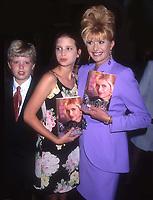 Eric Ivana & Ivanka Trump 1995<br /> Photo By John Barrett/PHOTOlink.net