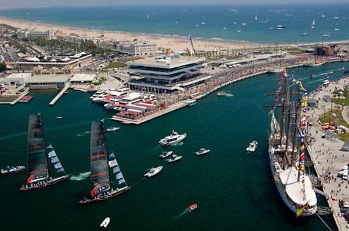 Port America's Cup in Valencia