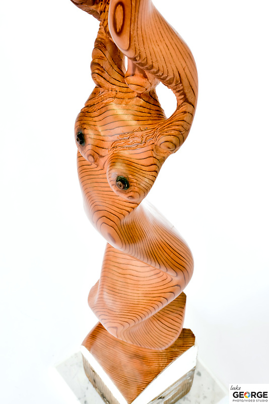Title: Redwood Girl<br /> Materials: Redwood<br /> Size: 42Tx9x9<br /> Price: Available on Request