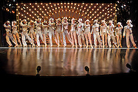 """""""A Chorus Line"""" musical by Stages St. Louis theater at Robert G. Reim Theatre in St. Louis, MO."""