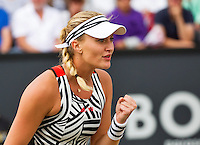 Den Bosch, Netherlands, 10 June, 2016, Tennis, Ricoh Open, Kristina Mladenovic (FRA) reacts<br /> Photo: Henk Koster/tennisimages.com