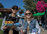 Oden and Kimberly during the inaugural Bud and Brew Music Festival in Wingfield Park in downtown Reno on Saturday, Sept. 23, 2017.